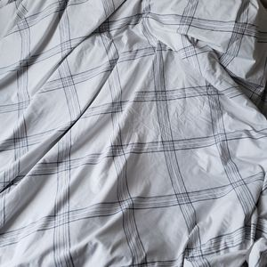 Twin size duvet cover with one pillow case